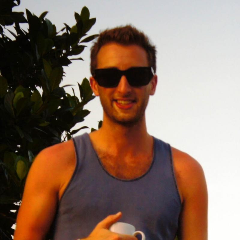 Simon J in Sri Lanka
